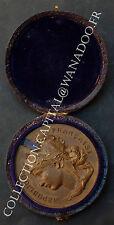 Médaille + Boite Société d'Encouragement à l'Agriculture. Loiret. Bronze.