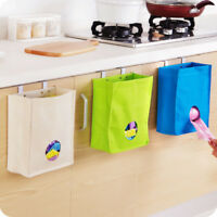 Kitchen Storage Bag Organizer Plastic Holder Grocery Dispenser Wall Mount Home