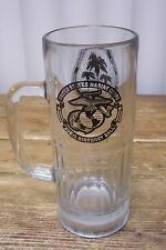 Clear Glass Beer Stein United State Marine Corps Birthday Ball Twentynine Palms