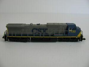 Bachmann Spectrum N Scale 7732 CSX GE Dash 8-40CW Diesel Locomotive #86065 EX