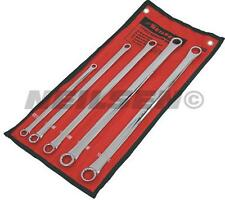 PRO 5pc LONG reach spanner set EXTRA LONG metric double ring aviation wrench