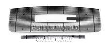 Aluminum Black Billet Grille Combo For 07-2013 GMC Sierra 1500 /07-2010 Denali