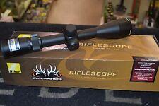 """Nikon BuckMasters II 3-9x40mm Matte BDC 1""""  Matte Black  Free Shippng 16338"""
