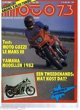 M8120-MOTO GUZZI LE MANS III,POSTER STRAVER,YAMAHA 1982