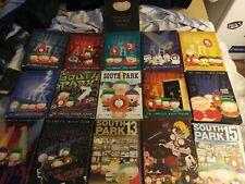 South Park seasons 1-15 + The Cult of Cartman Dvd Lot / Bundle.