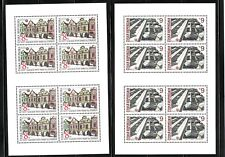 Czech Republic Sc 2919-20 NH Minisheets of 1994 - Architectural Sights - UNESCO