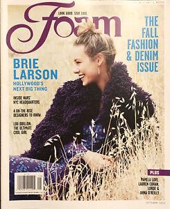 Foam Mag Oct 2013 Brie Larson Lorde Hannah Davis Fall Fashion & Denim Issue