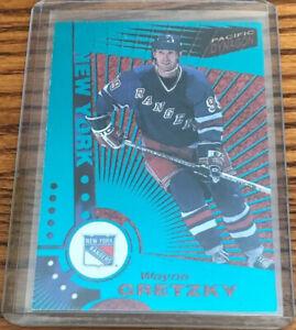 1997-98 Pacific Dynagon Emerald Green Wayne Gretzky #78 New York Rangers