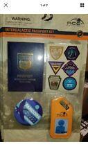 Disney Avatar Pandora Intergalactic Passport Set Collectible Activity Kit Badge