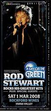 Rod Stewart - A Day On The Green Tour 2008 Concert Flyer Handbill Australia