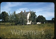 1941 red border kodachrome Photo slide Hargis farm Onley VA