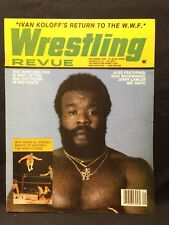 Wrestling Revue Magazine September 1983 WWE WWF WCW NWA AWA Pro Illustrated