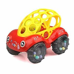 ZHFUYS Rattle & Roll Car?3 to 24 Months Baby Toys 5 inch boy and GILR Infant