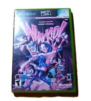 Whacked (Microsoft Xbox, 2002) no manual, tested