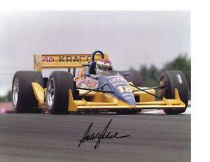 Autographed Bobby Rahal CART Indy Car Racing Photograph