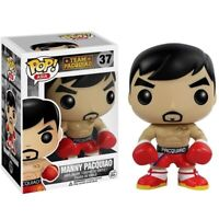 NEW! POP Manny Pacquiao #37 With Box Vinyl Action Figures Model Vaulted Rare Toy