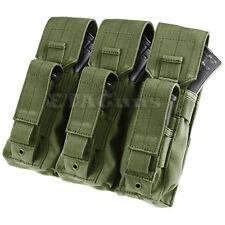 CONDOR MA72 MOLLE Triple 7.62x39 5.56 Rifle Kangaroo M9 Magazine Pouch OD Green