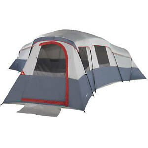 20 Person Camping Tent 4 Room Outdoor Cabin Dome Family Hiking Shelter Portable