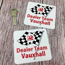 DTV Dealer Team Vauxhall Stickers Magnum Chevette Viva GT