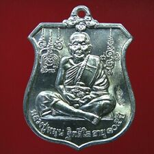 Thai Amulet Powerful Magic Buddha LP Moon coin Talisman Thai Amulet
