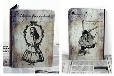 Para el nuevo iPad Mini 1 2 3 Vintage Cuento de Hadas Alicia en el país de las maravillas Diseño Estuche Cubierta