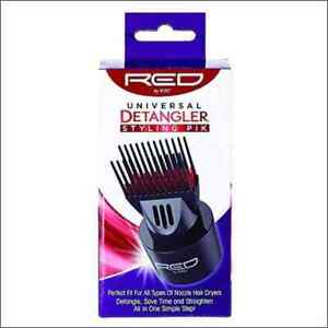 Red by Kiss Double Layer Universal Blow Dryer Detangling Pik Attachment