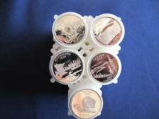 2005-S Silver Statehood Quarter Proof Roll Set