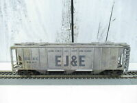 Vintage Ho Ho Scale Custom Weathered El&E 3 Bay Covered Hopper Weathered