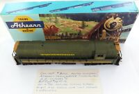 .ATHEARN TRAINMASTER (CUSTOM PAINTED) CANADIAN NATIONAL 3000 ENGINE + HISTORY