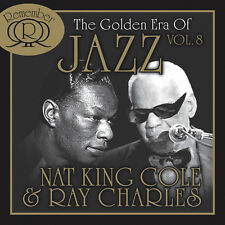 CD NAT KING COLE ET RAY CHARLES The Golden Era 2CDs