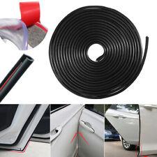 "390"" Black Rubber Strip Anti-Scratch Car Door Edge Protector Moulding Trim Guard"