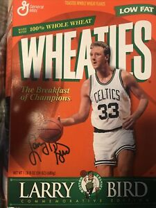 Larry Bird 1991 Wheaties Box Commemorative Edition (opened/empty)