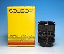 MC Soligor S/M Zoom+Macro 28-70mm /3.9-4.8 Canon FD Objektiv lens - (81648)