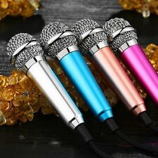 3.5mm Mini Stereo Microphone MIC For Mobile Phone PC Laptop Notebook MSN Skype