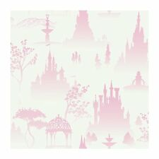Disney Princess Scenic Toile In Pink Sure Strip Wallpaper DK5986