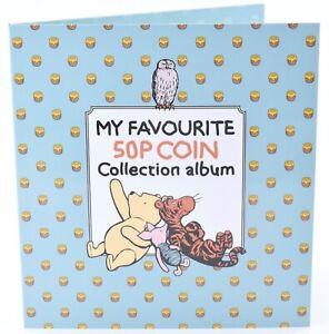 Winnie The Pooh 9 Coin 50p Album Christopher Robin Piglet Eeyore AUT WE