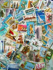SHIPS, SAILING SHIPS EXPLORERS stamp collection made up of 200 different (LotDP)