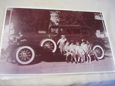 1932  STUDEBAKER ST REGIS  WITH OUR GANG ACTORS 11 X 17  PHOTO /  PICTURE