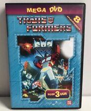 """Transformers """" Mega DVD """" dvd Dutch NL Subtitles 8 afleveringen"""