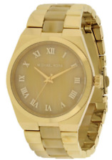 Michael Kors Channing MK6152 Champagne Dial Gold-Tone Stainless Steel Women's Wa