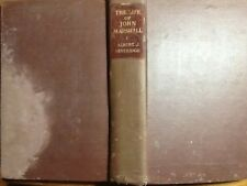 THE LIFE OF JOHN MARSHALL - FRONTIERSMEN, SOLDIER LAWMAKER 1755-1788 VOLUME I