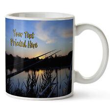 Personalised Carp Fishing Mug Birthday Cup Gift * Add Name *SH044