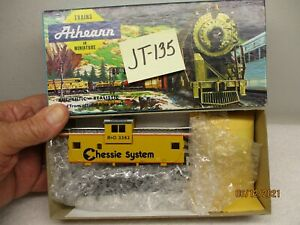 JT-135 Athearn Kit 5369 Wide Vision Caboose Chessie System 3382