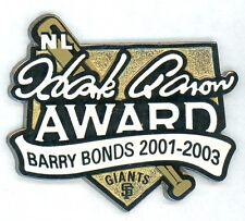 SF Giants Barry Bonds Hank Aaron Award Pin 2001-03 Limited Edition of 100 sfgb