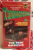 Thunderbirds To The Rescue 1986 VHS Video Tape Collectable Rare Vintage TBLO