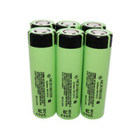 6X 18650 3400mAh High Drain NCR18650B 3.7V Li-ion Rechargeable Battery
