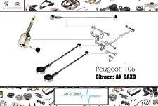 Set de 4 pcs Peugeot 106 citroen saxo gear tiges gear box contrôleur liens