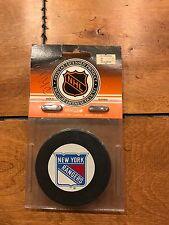 Vintage NEW YORK RANGERS Hockey Puck NEW IN PACKAGE