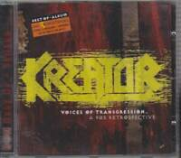 "KREATOR ""Voices Of Transgression - A 90s Retrospective"" Best Of CD"