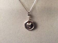 Nwt Msrp $36 (3) Brighton Devotion True Blue Necklace